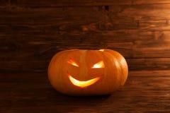 stålarlykta o En halloween pumpa Royaltyfria Foton