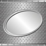 stålbakgrund Royaltyfri Bild