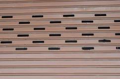 ståldörrtexturer Arkivfoton