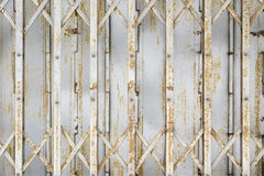 ståldörrtexturer Royaltyfri Bild