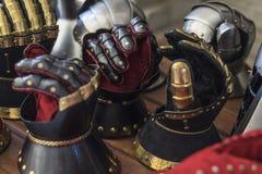 Stålhandskar Royaltyfri Foto