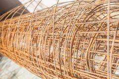 Stålkonstruktionsmaterial Royaltyfria Foton