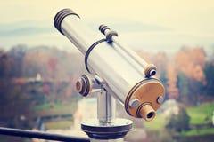 Stålmonocular i Salzburg Arkivfoto