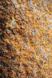 Stålrost, rosttextur, rostbakgrund, järnrost Fotografering för Bildbyråer