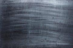 Stålsätta textur, den mörk bakgrund borstade järnnärbilden Royaltyfria Foton