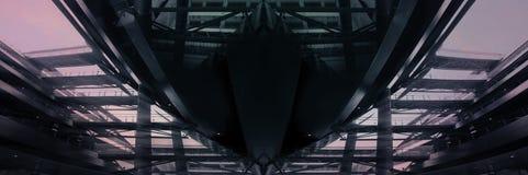 stålskyttel Royaltyfri Foto