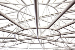 stålstruktur Royaltyfri Fotografi
