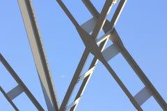 Stålstruktur Fotografering för Bildbyråer