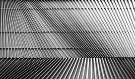 Stålstruktur, abstrakt linje bakgrund Royaltyfri Fotografi