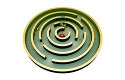 Ståndaktighet (rund labyrint) Fotografering för Bildbyråer