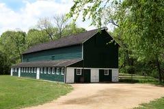ståndsmässig återställd mejeripark för ladugård Royaltyfri Fotografi