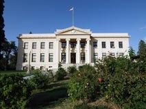 ståndsmässig domstolsbyggnad Arkivbilder