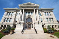 Ståndsmässig domstolsbyggnad i Missoula, Montana Royaltyfri Bild