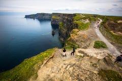 ståndsmässig ireland för clare klippor moher royaltyfri fotografi