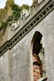 STÅNDSMÄSSIGA OFFALY, IRLAND - AUGUSTI 23, 2017: Hoppa slotten är en av de mest spökade slottarna i Irland Royaltyfria Foton