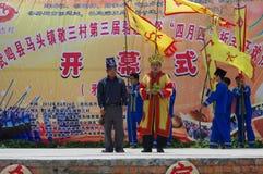 ståndsmässigt guangxilandskap t som för 3rd porslin 2012 wuming Royaltyfri Bild