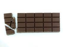 Stång av choklad Royaltyfri Fotografi