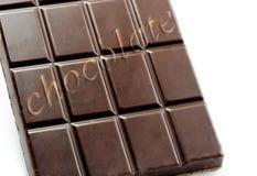 Stång av choklad Arkivfoton