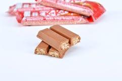 Stång för choklad för Nestle satskat Royaltyfria Foton
