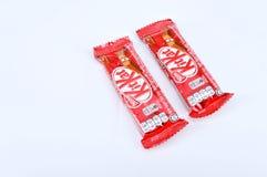 Stång för choklad för Nestle satskat Arkivbild