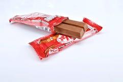 Stång för choklad för Nestle satskat Royaltyfri Foto