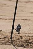Stång i sand Royaltyfria Bilder