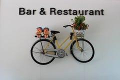 Stång och restaurang Arkivbild