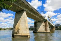 Stångbro, Brisbane flod Royaltyfri Fotografi
