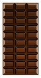 stångchoklad Arkivfoto