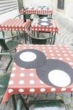 Stången bordlägger färger Fotografering för Bildbyråer