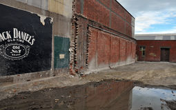 stången slösar det sydliga christchurch jordskalvet Fotografering för Bildbyråer
