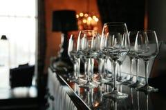 stångexponeringsglaswine Royaltyfri Bild