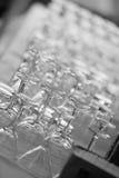 stångexponeringsglaswine Arkivfoto