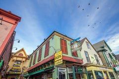Stånghamn i Maine Fotografering för Bildbyråer