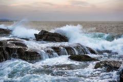 Stånghamn Maine Fotografering för Bildbyråer
