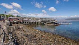 Stånghamn - med en trevlig blå himmel Fotografering för Bildbyråer