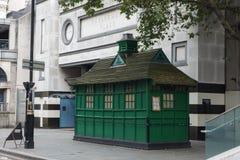 Stångkiosk i London Royaltyfri Fotografi