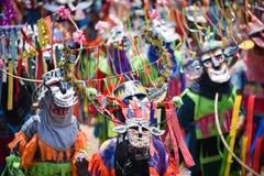 Ståta av dans för phi-Khon-Nam för regnceremonifestival Royaltyfri Bild
