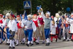 Ståta av song- och dansberömmen 2011 Royaltyfria Foton