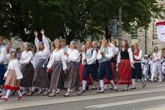 Ståta av song- och dansberömmen 2011 Arkivfoto