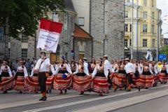 Ståta av song- och dansberömmen 2011 Arkivbilder