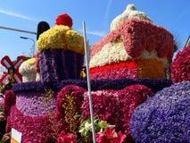 Ståta blommor Arkivbild