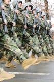 Ståta för soldater Royaltyfria Bilder