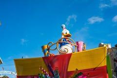 Ståta i Main Street USA på det magiska kungariket, Walt Disney World royaltyfria bilder