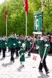 Ståta i Oslo på 17th kan Royaltyfria Foton
