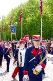 Ståta i Oslo på 17th kan Arkivfoton