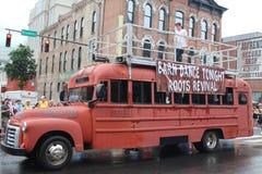 Ståta på Broadway i Nashville, Tennessee royaltyfri bild