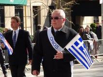 Ståtar den grekiska självständighetsdagen för NYC 2016 del 3 48 Royaltyfri Foto