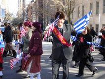Ståtar den grekiska självständighetsdagen för NYC 2016 del 6 53 Arkivfoton