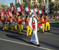 Ståtar den nationella dagen för UAE Royaltyfria Foton